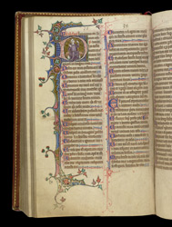 Psalm 38 (39), in the Stowe Breviary